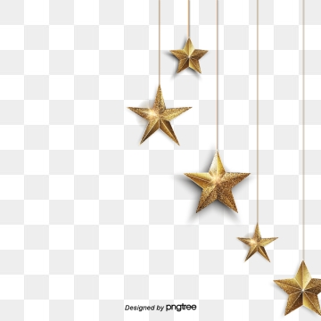 Christmas Star PNG Images.