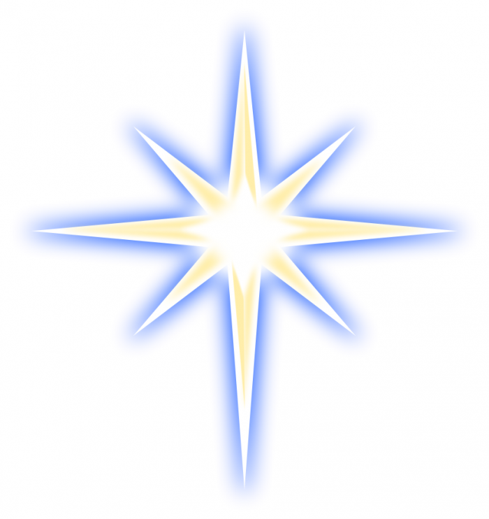 Christmas Star Png Transparent Background Vector, Clipart, PSD.
