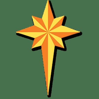 Christmas Star transparent PNG.