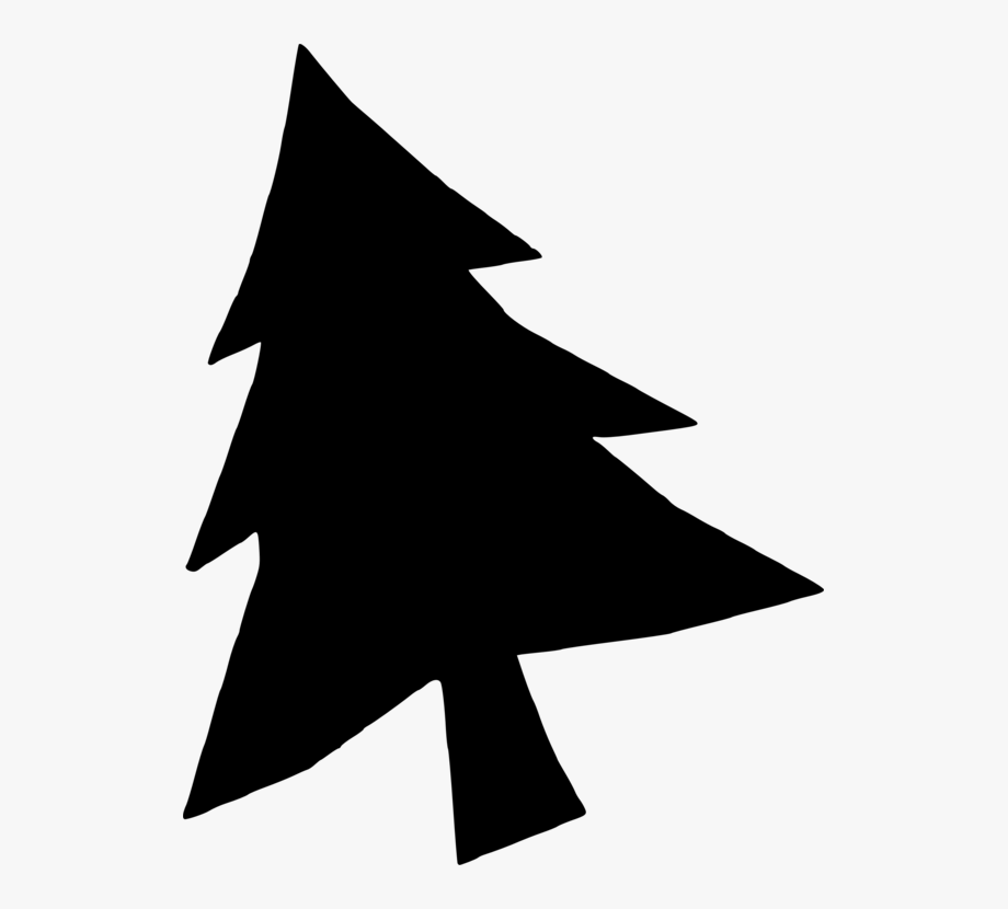 Christmas Star Silhouette Png.