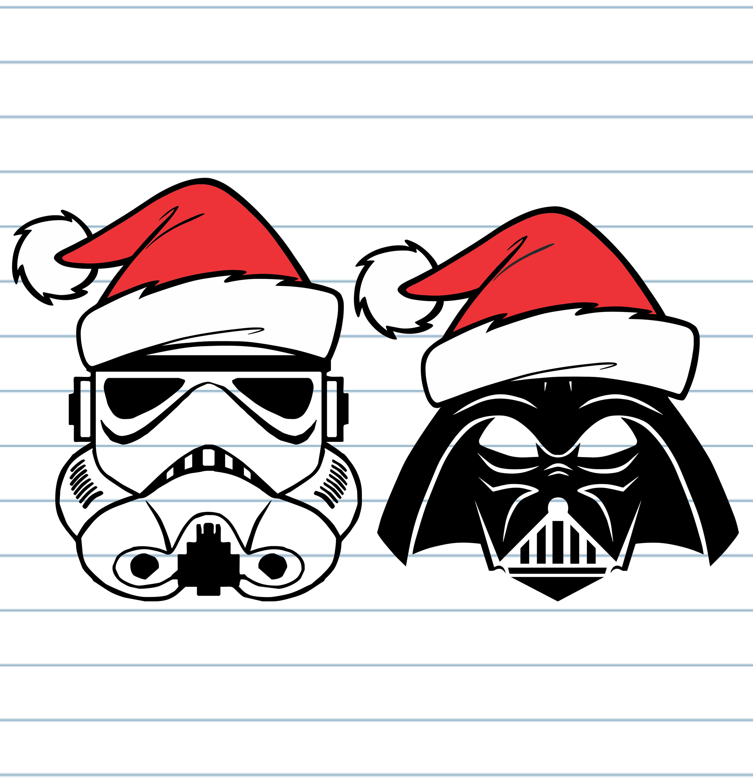 Starwars clipart christmas, Starwars christmas Transparent.