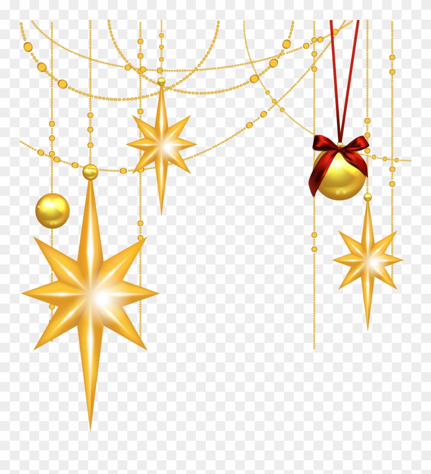 Free Christmas Star Clipart.