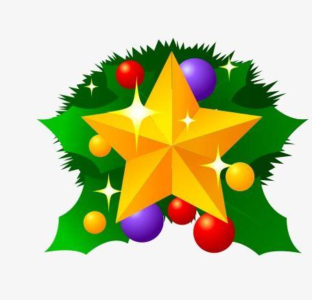 Sweet Christmas Star Clipart.