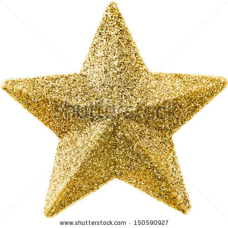Christmas Star Stock Images, Royalty.