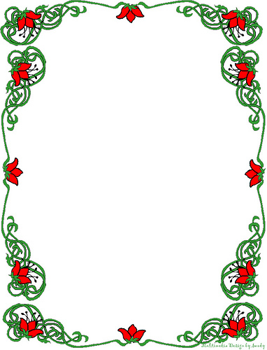 Free Christmas Stationery Clipart.