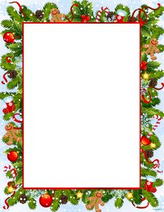 Lacy Tree Stationery Letterhead Christmas Stationery.