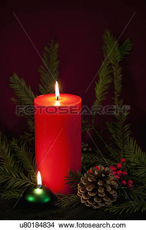 Stock Photo of USA California, Fairfax, christmas still life with.