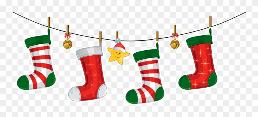 Christmas Stocking Border Clipart 3 By Jose.