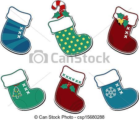christmas socks cartoon.