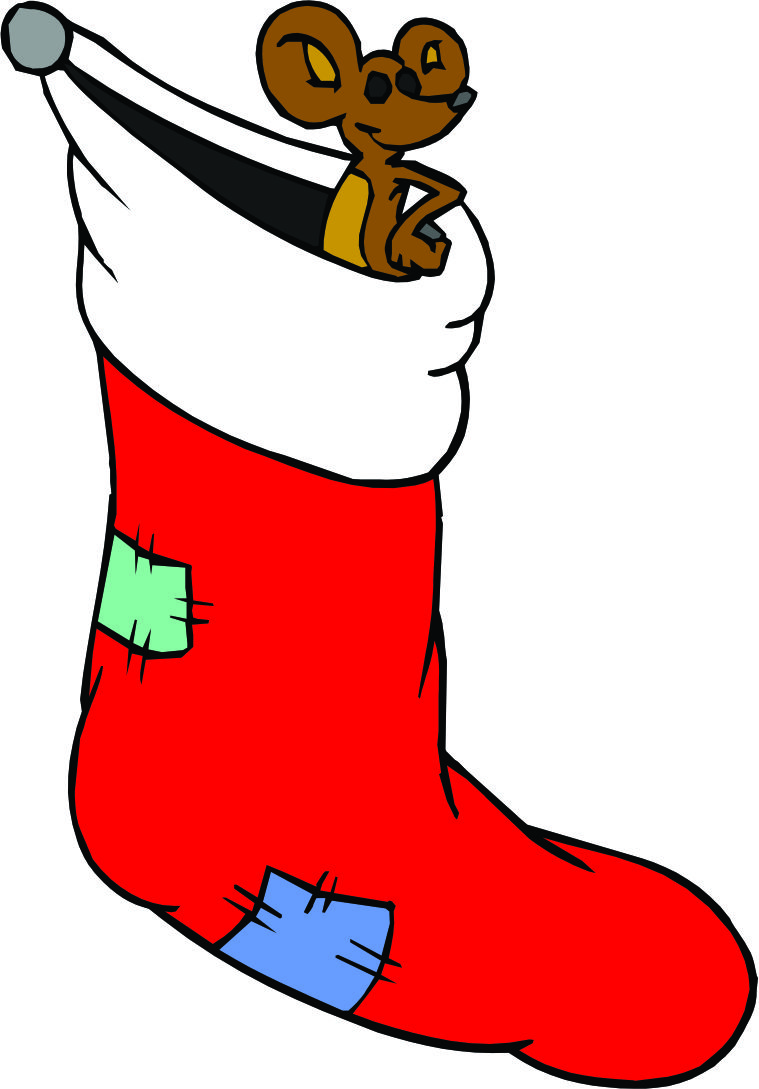 Free Christmas Stocking Cartoon, Download Free Clip Art, Free Clip.