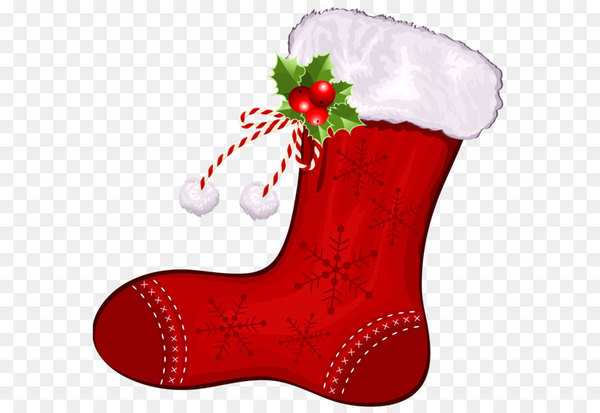 Christmas stocking Clip art.