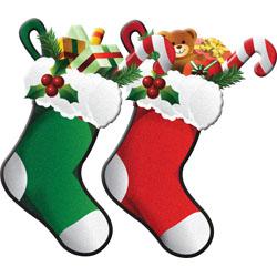 Christmas clipart: Snowmen, Stockings, Rocking Horse.