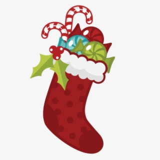 Free Christmas Stocking Clip Art with No Background.