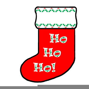 Christmas Stocking Clipart Free.