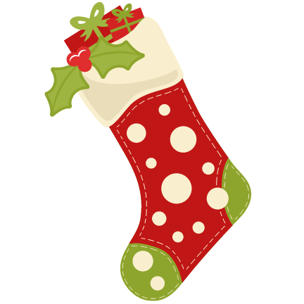 Christmas Stocking Clipart 10.