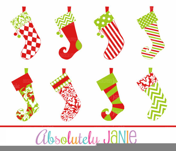 Free Clipart For Christmas Stockings.
