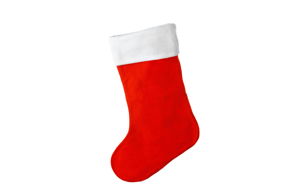 Christmas stocking,Red,Sock,Product,Christmas decoration,Footwear.