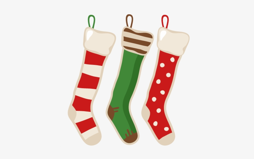 Vector Free Library Free Christmas Stocking Clipart.