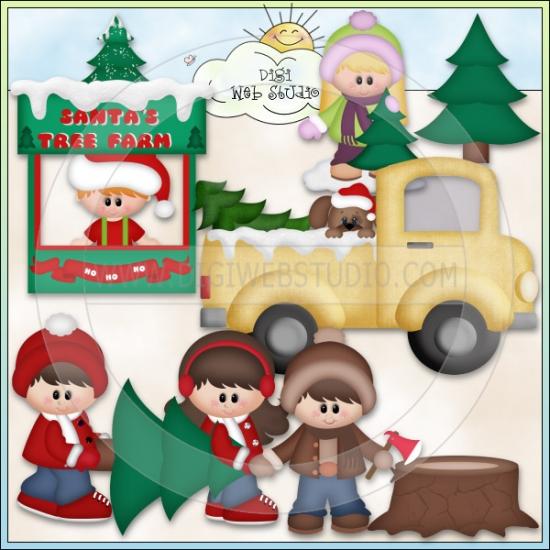Christmas Village: Santa's Tree Farm 1.