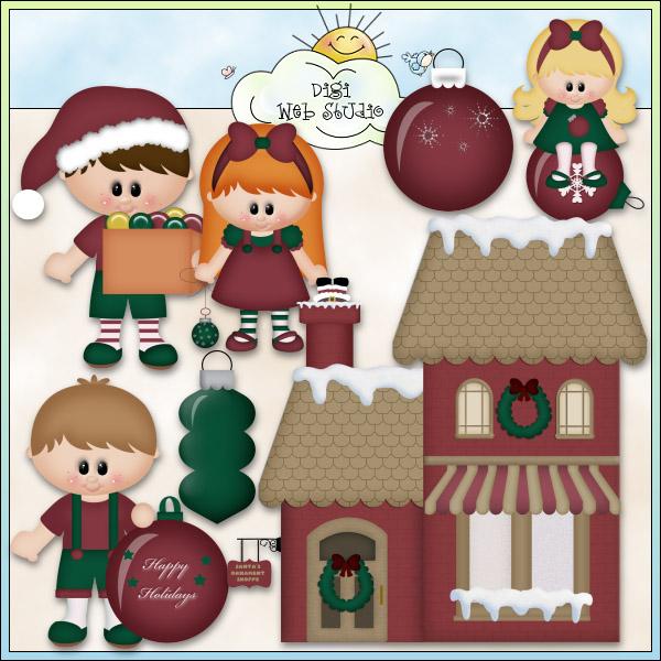 Christmas Village: Santa's Ornament Shoppe 1.