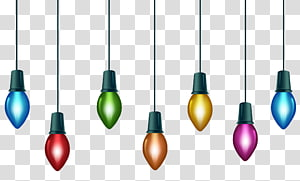 Christmas Lights transparent background PNG cliparts free download.