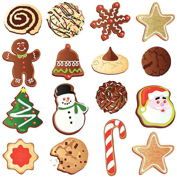Christmas Sugar Cookie Clipart (102+ images in Collection) Page 3.
