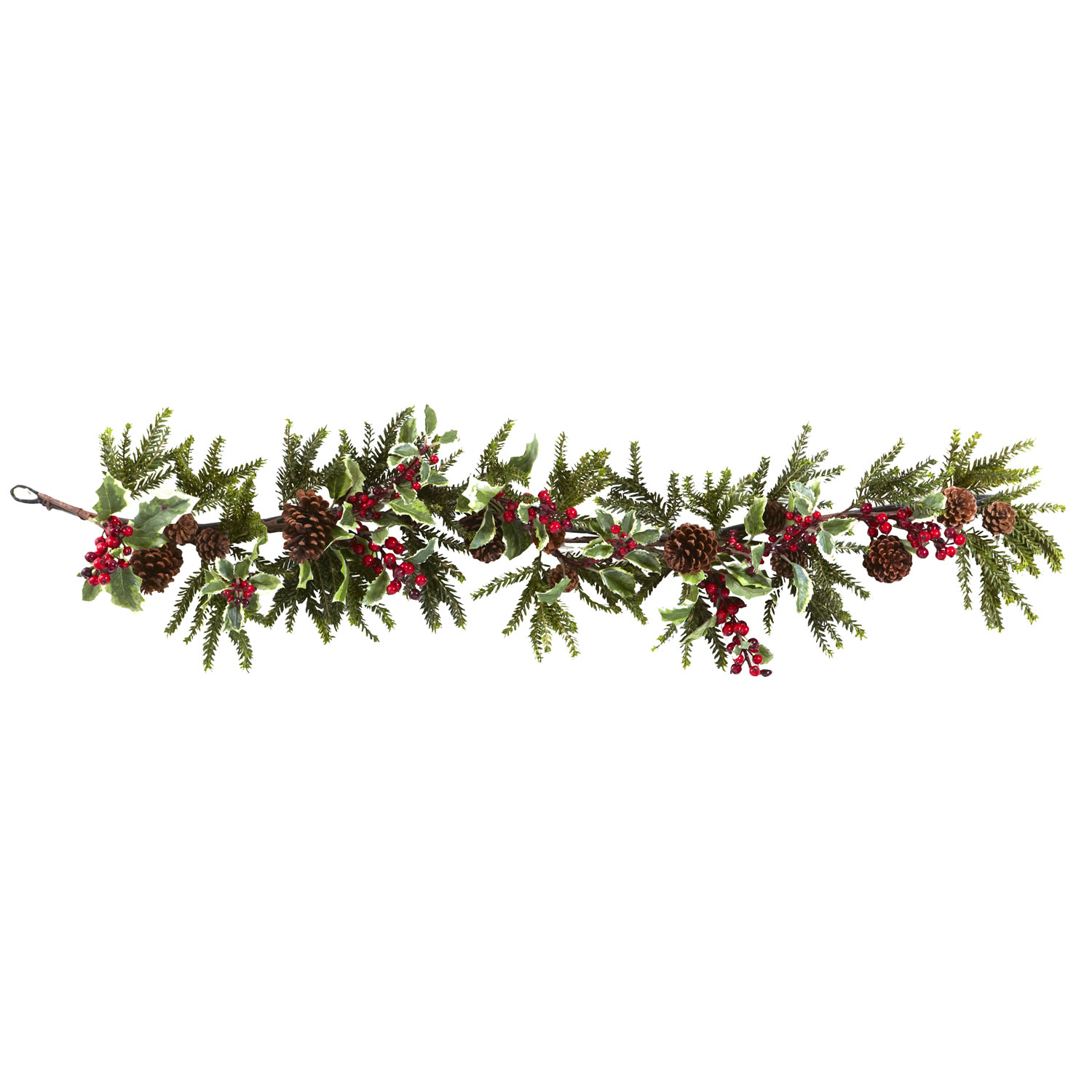 Pine Garland Cliparts.