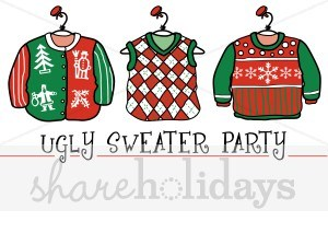 Ugly christmas sweater clipart free 6 » Clipart Portal.