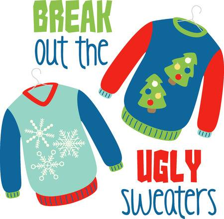 1,568 Ugly Sweater Stock Vector Illustration And Royalty Free Ugly.