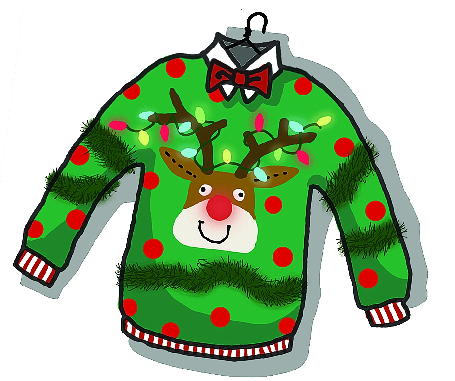 christmas sweater clipart png clipground Free Christmas Page Borders Christmas Borders for Letters