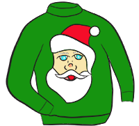 Free Ugly Christmas Sweater Clipart.