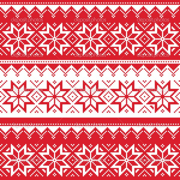 Ugly Sweater Background.