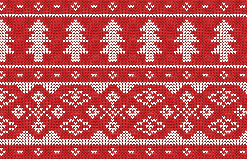 4 Free Seamless Knitted Christmas Jumper Patterns.