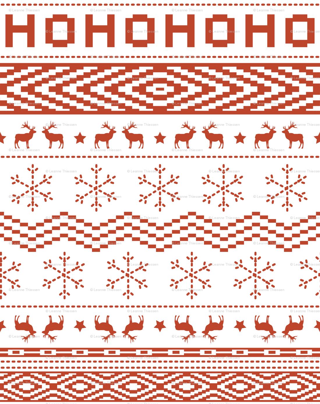 Ugly Christmas Sweater.