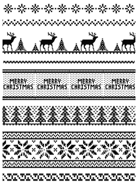 Ugly Sweater Background Builder Clear Stamps.