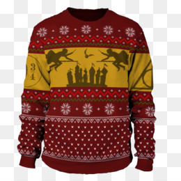 Harry Potter Ugly Christmas Sweater PNG.