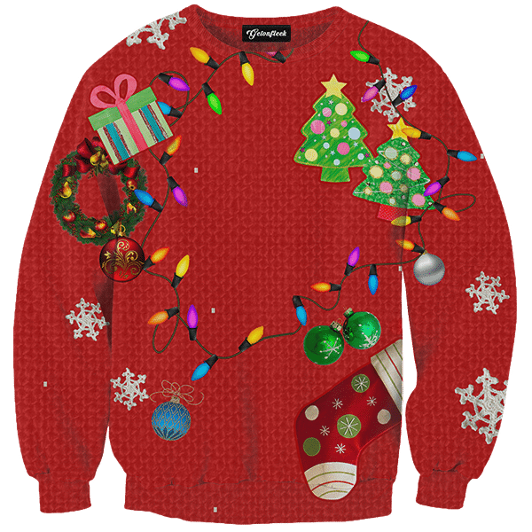 Classic Ugly Christmas Sweater.