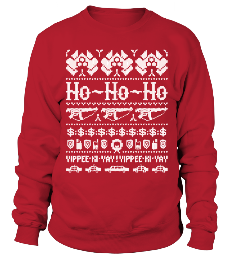 John Mcclane Ugly Christmas Sweater.