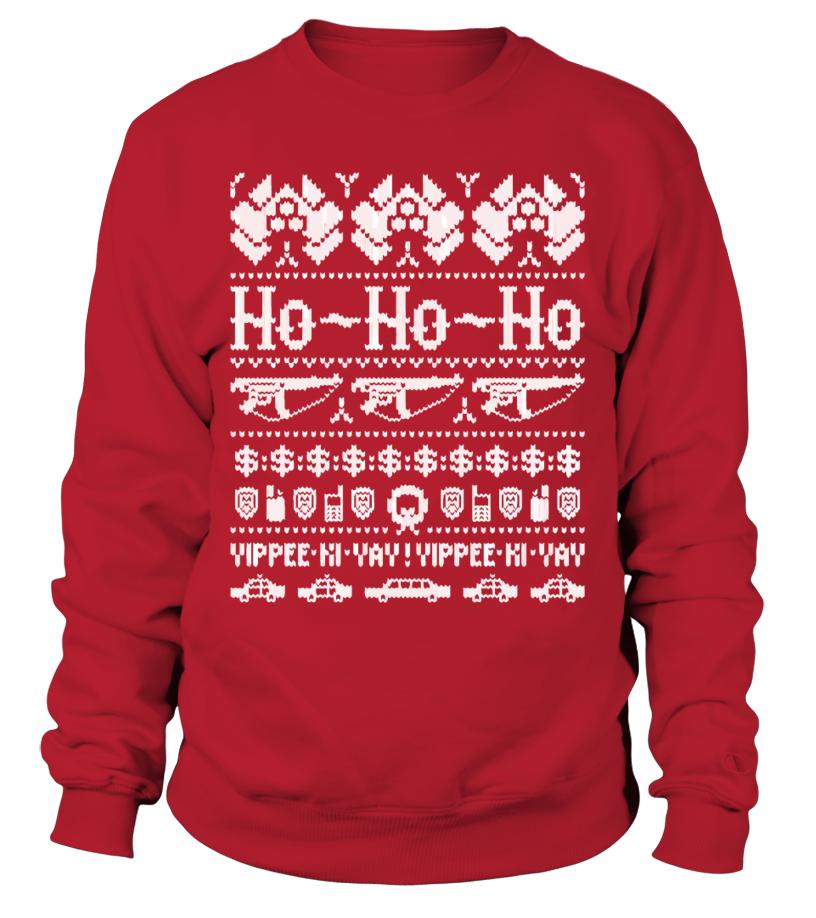 John Mcclane Ugly Christmas Sweater.