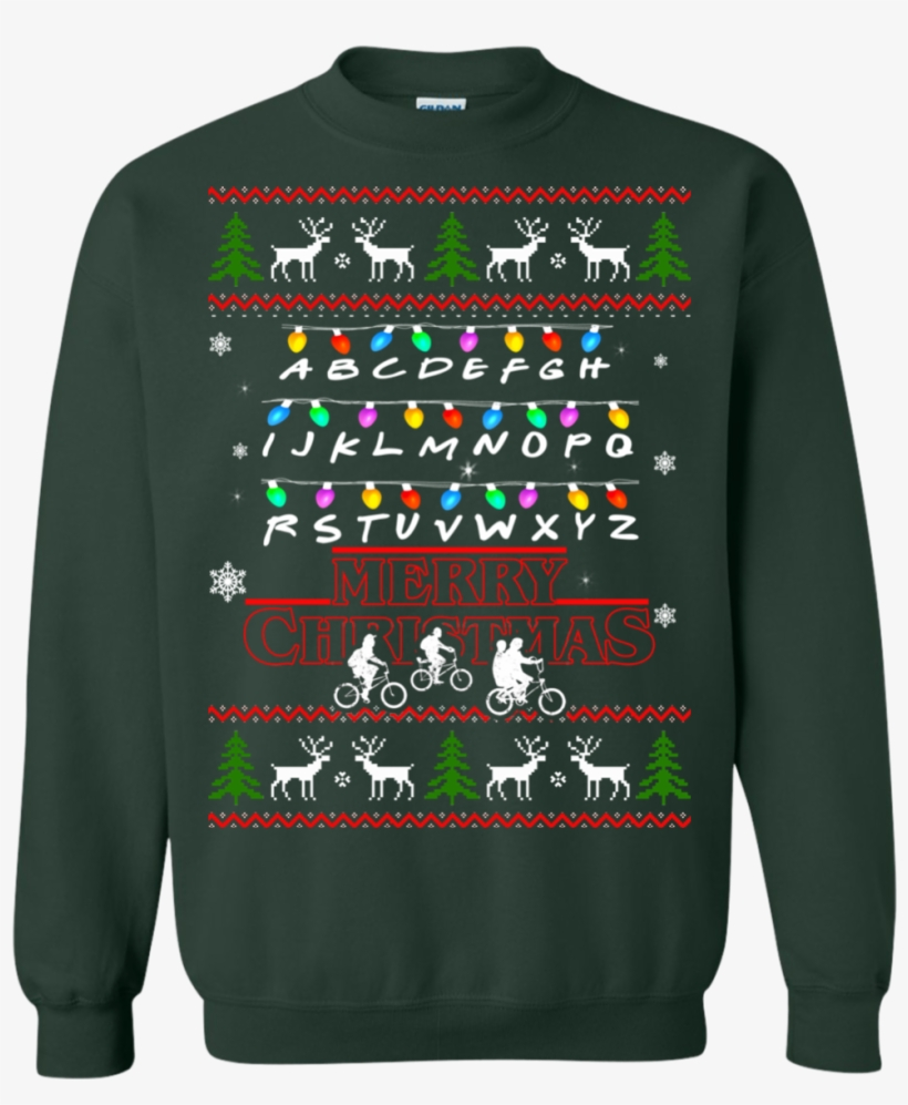 Stranger Things Merry Christmas Ugly Sweater.