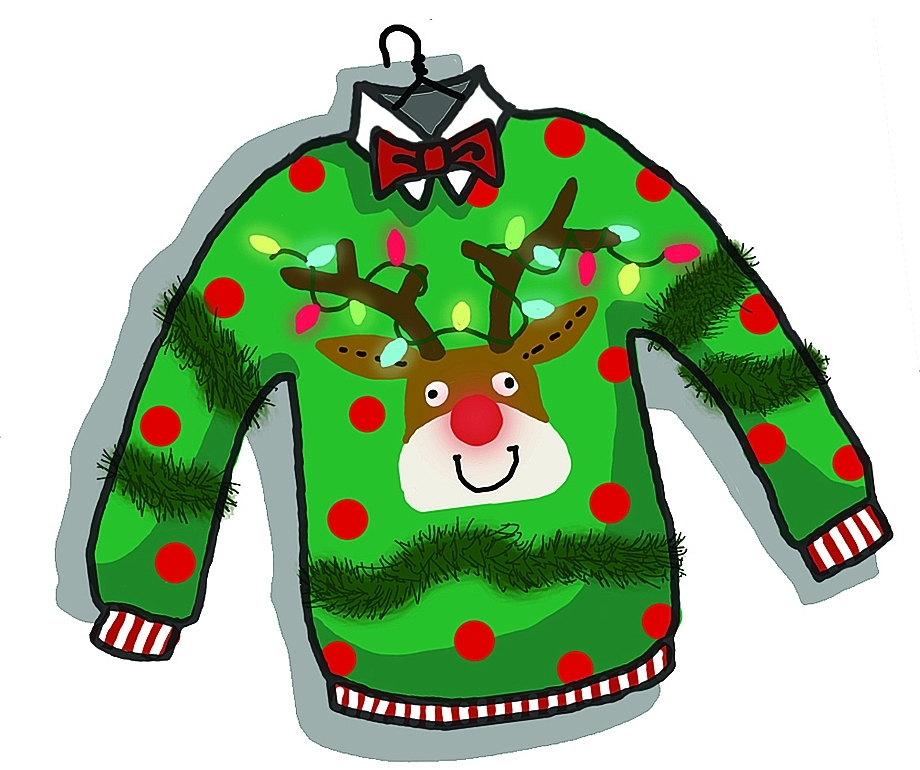 36+ Ugly Christmas Sweater Clipart.
