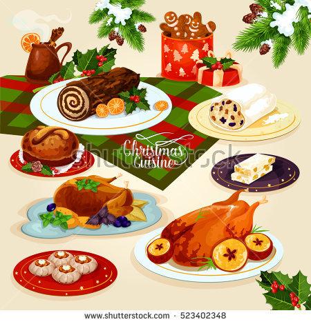 Christmas Eve Dinner Stock Photos, Royalty.