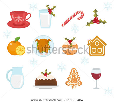 Christmas Table Decorations Stock Photos, Royalty.