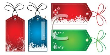 Holiday Gift Tags Collection.