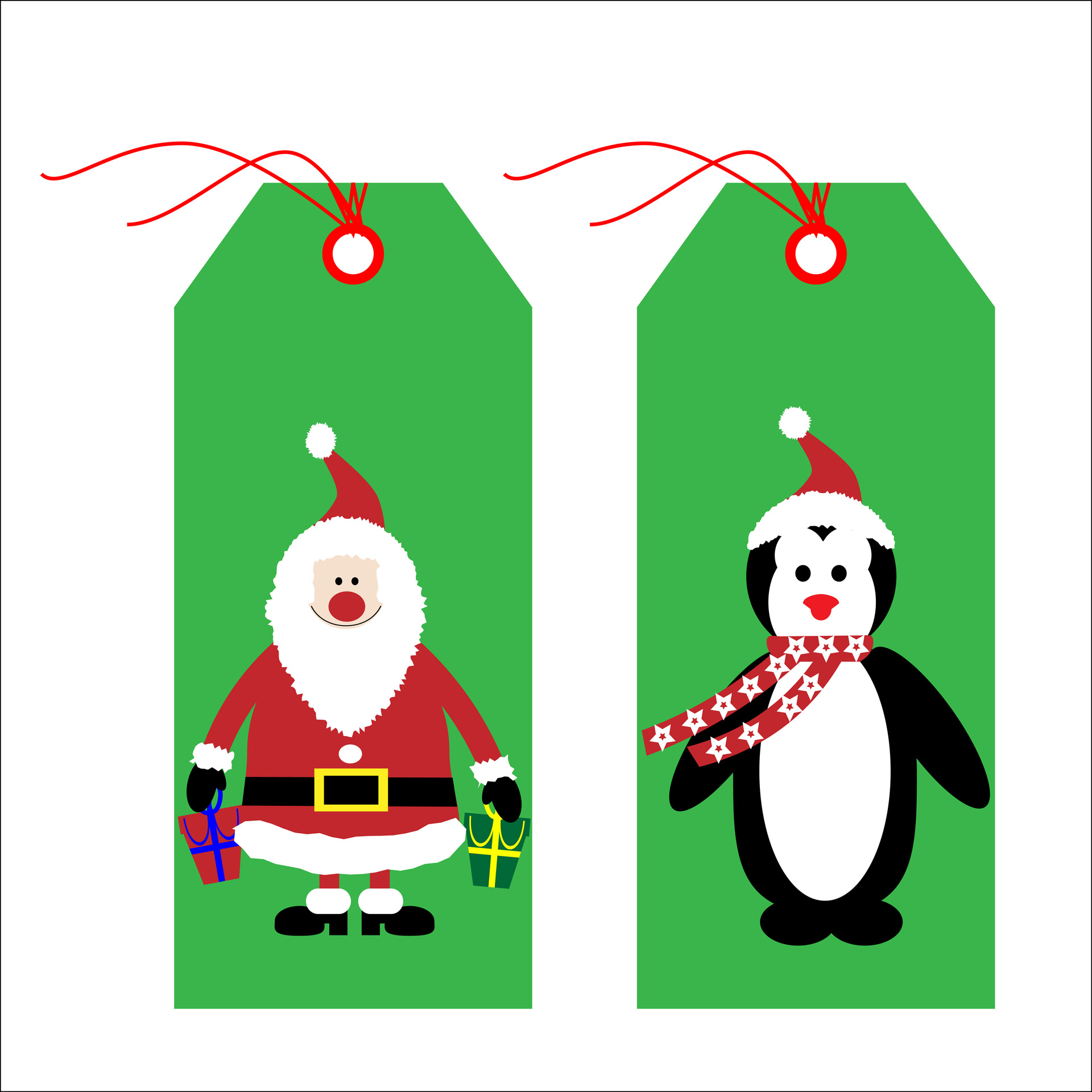 Gift Tags Clipart Free Stock Photo.