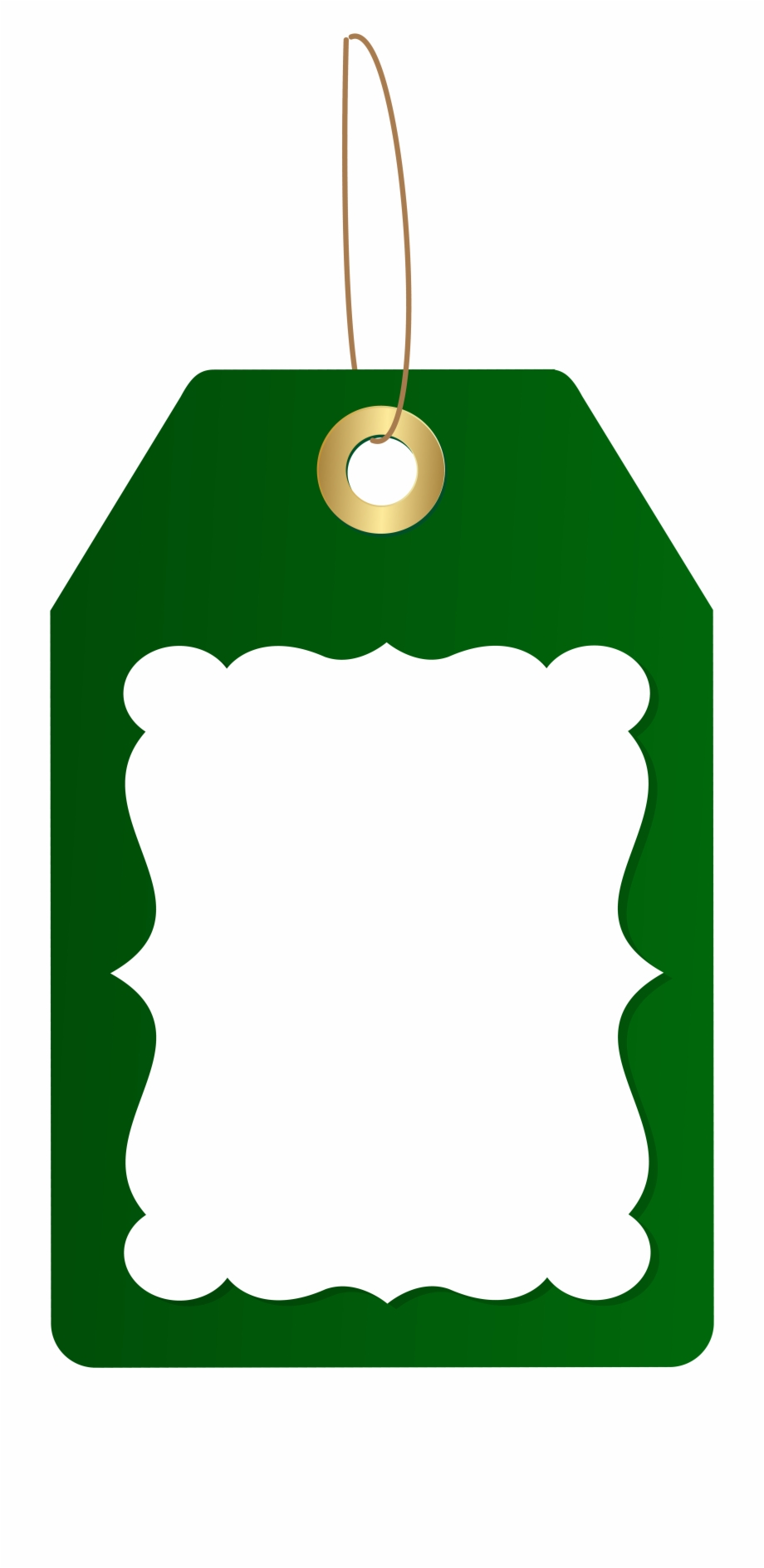 Vector Download Christmas Tag Clipart.