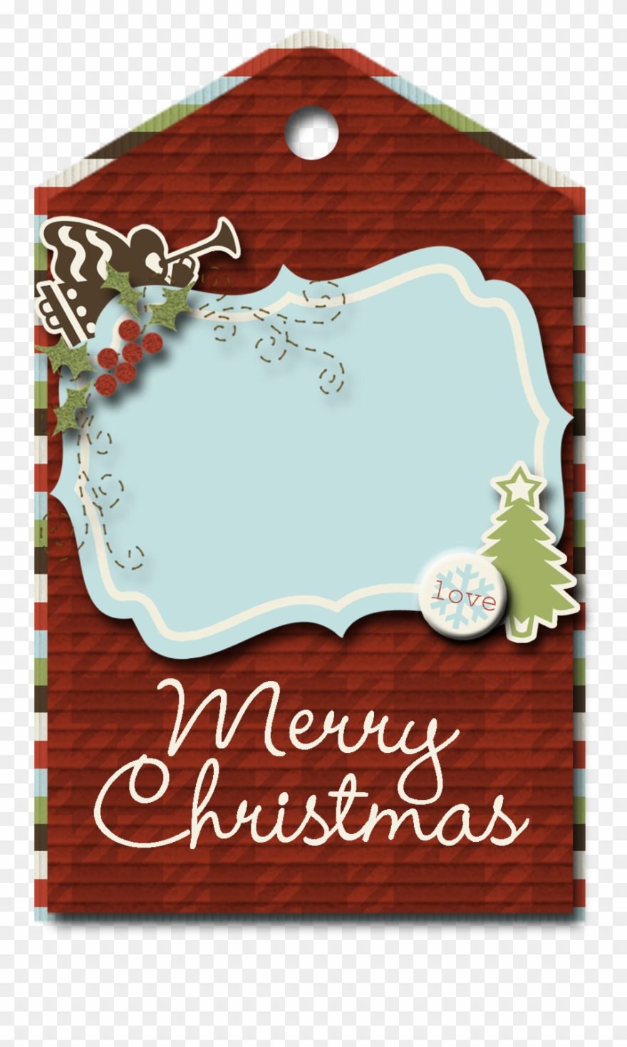 Christmas Tag Png Clipart Free Download Transparent Png (#2009367.