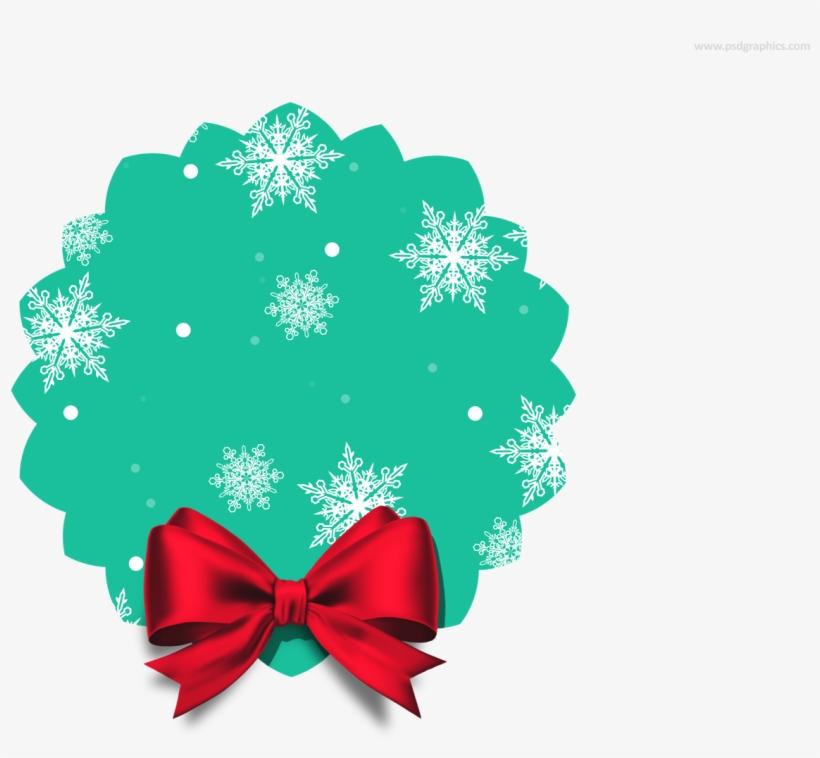 Blank Christmas Tag Png.