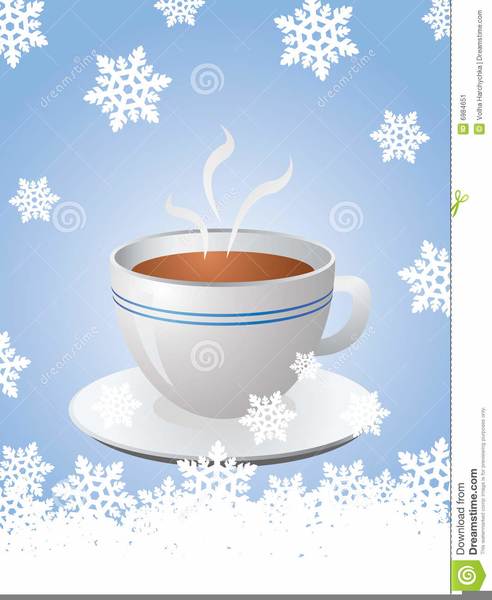 Christmas Tea Cup Clipart.