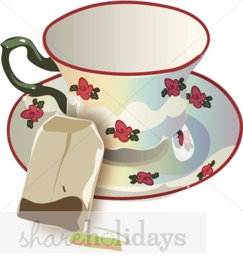 Christmas tea party clipart » Clipart Portal.